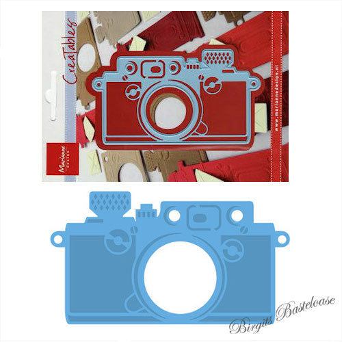 Marianne Design Stanzschablone Creatables camera LR0274