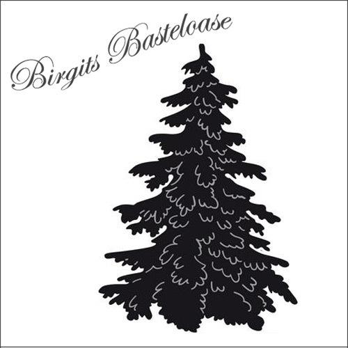 craftables stanzschablone weihnachtsbaum tanne cr1224 kaufen. Black Bedroom Furniture Sets. Home Design Ideas