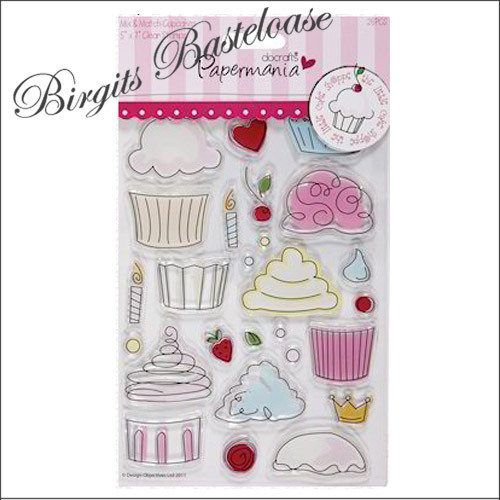 clear stamp stempel muffin cupcake docrafts g nstig kaufen. Black Bedroom Furniture Sets. Home Design Ideas