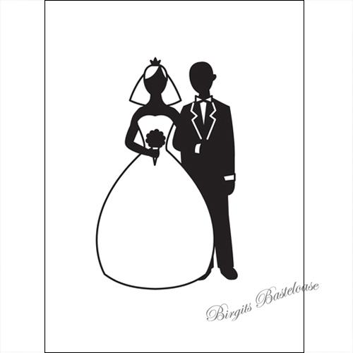 Pragefolder Embossing Folder Hochzeitspaar D 658 Kaufen
