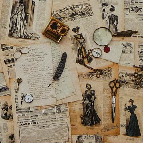 dixi craft design papier vintage background 15x15 paper 44. Black Bedroom Furniture Sets. Home Design Ideas