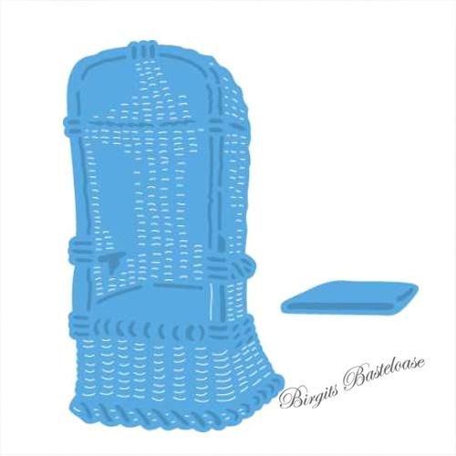 creatables stanzschablone strandkorb mit kissen lr0364 kaufen. Black Bedroom Furniture Sets. Home Design Ideas