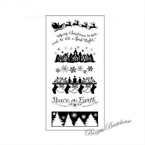 Bilder Rentiere Weihnachten.Inkadinkado Clear Stamps Weihnachten Schlitten Rentiere 30984