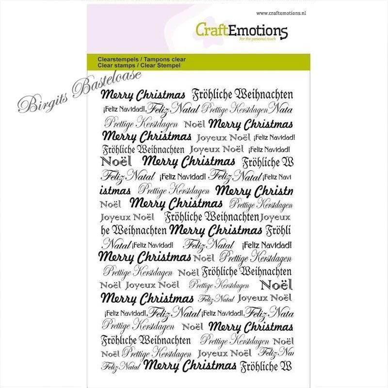 Clear Stamp Schrift Fröhliche Weihnachten 1052 günstig kaufen