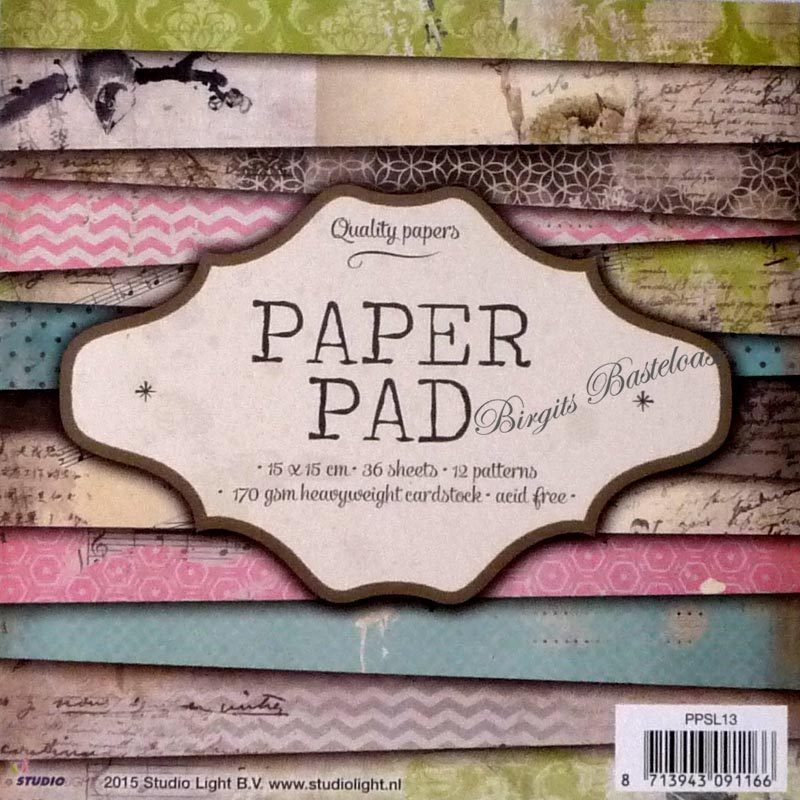 studio light paper pad 15 x 15 vintage design papier 13 kaufen. Black Bedroom Furniture Sets. Home Design Ideas