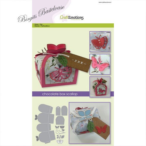 CraftEmotions Stanzschablone Chocolate Box 115633/1504
