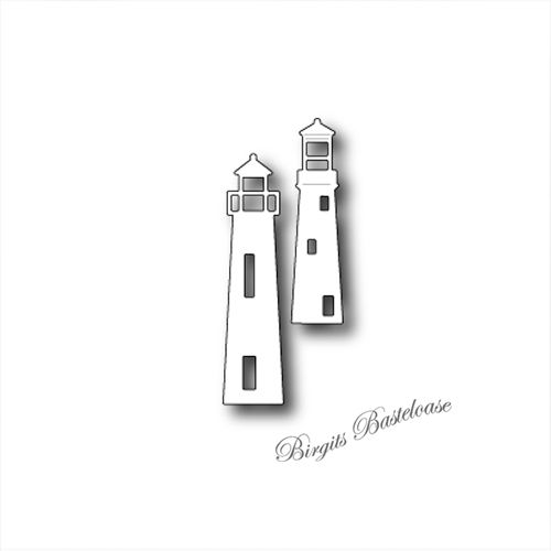 Poppystamps Stanzschablone Seaside Lighthouses 1363