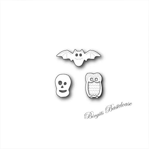 Poppystamps Stanzschablone Halloween Decor 1242