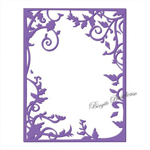 Prägefolder Vine Frame Couture creations CO723642