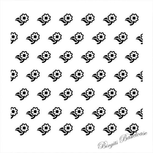 Prägefolder Embossing Folder Flowers-2 Nellie EEB008