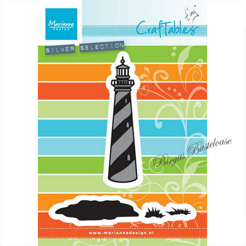CrafTables Stanzschablone Lighthouse Leuchtturm CR1410