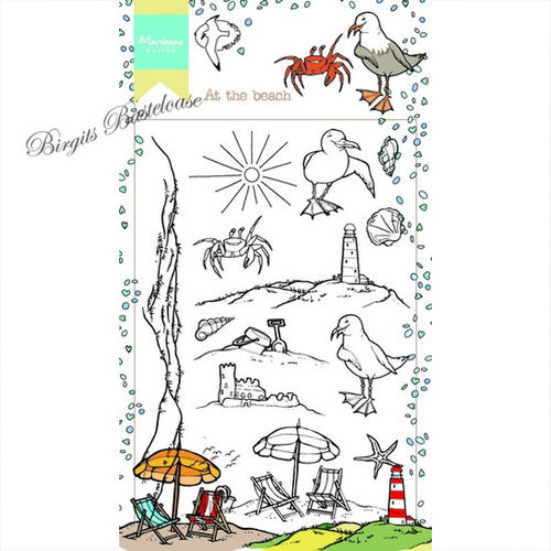 Marianne Design Clear Stamp At the Beach - Am Strand HT1622