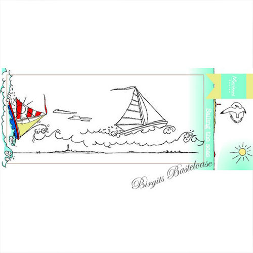 Marianne Design Clear Stamp Sailing the seas HT1623