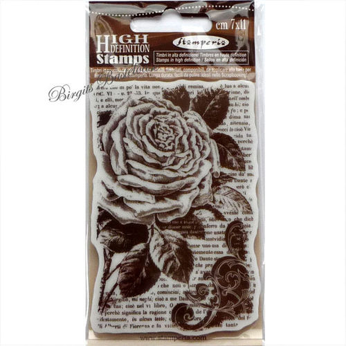 Stamperia Stempel Collage Rose WTKCC72