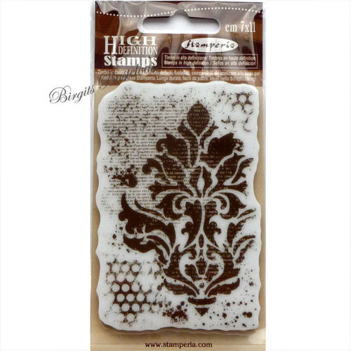 Stamperia Stempel Collage Ornament WTKCC54