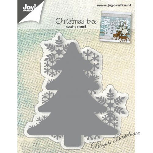 JoyCrafts Stanzschablone Christmas Tree Tanne 6002/0682