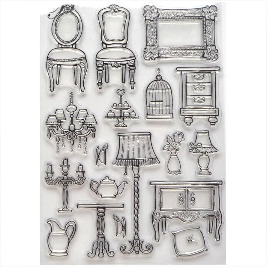 stempel stamps clear cling stamp g nstig kaufen silikon. Black Bedroom Furniture Sets. Home Design Ideas