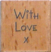 Me to You Stempel With love x MTY906118