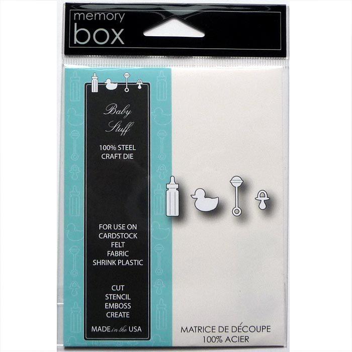 Memory Box Stanzschablone Baby Stuff 98702 günstig kaufen