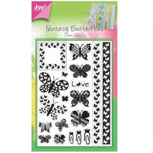 JoyCrafts Clear Stamps Stempel Schmetterling 6410/0036