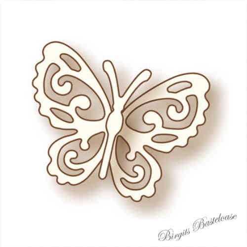 Wild Rose Studio Stanzschablone Little Butterfly SD019