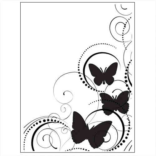 Prägefolder Embossing Folder Schmetterling D-664