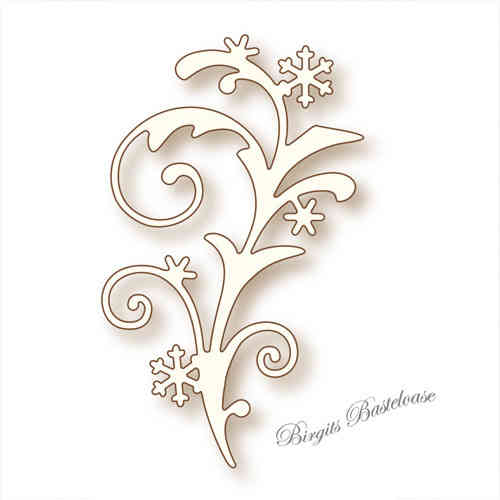 Wild Rose Studio Stanzschablone Snow Flourish SD025