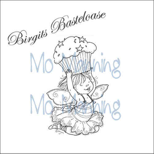 Mo Manning Clear Stamp Birthday Fairy Lee MM012