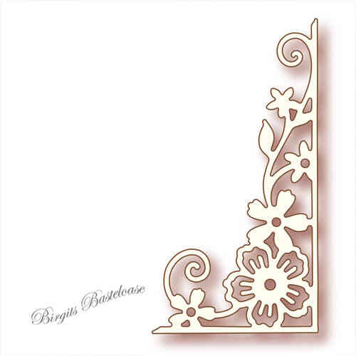 Wild Rose Studio Stanzschablone Corner Flourish SD003