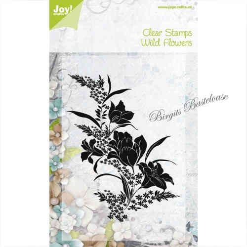 JoyCrafts Clear Stamps Stempel Wild Flowers 0095