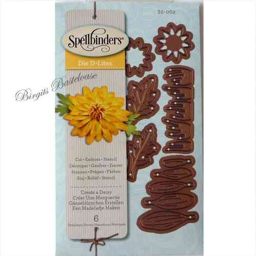 Spellbinders Stanzschablone Create a Daisy S2-062