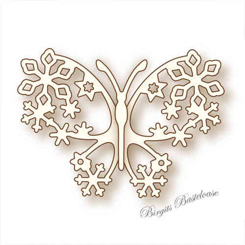 Wild Rose Studio Stanzschablone Winter Butterfly SD029