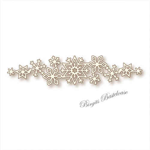 Wild Rose Studio Stanzschablone Snow Flurry SD032