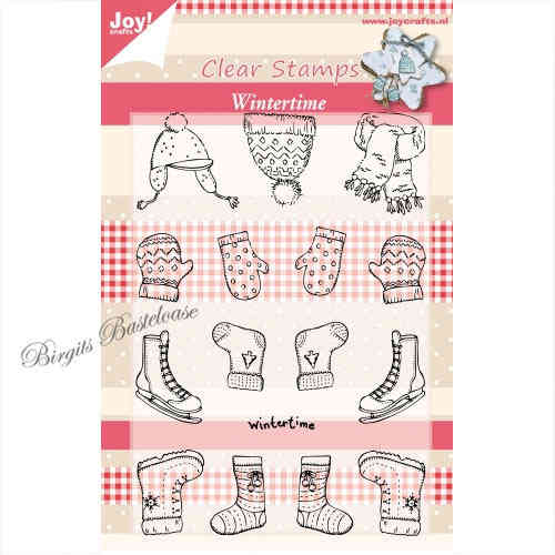 JoyCrafts Clear Stamps Stempel Wintertime Kleidung 0122