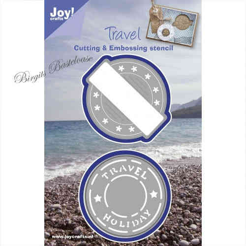 JoyCrafts Stanzschablone Travel Holiday 1201/0095