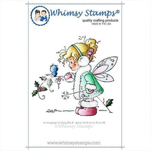 Whimsy Stamps Winter Fairy SZWS105 Elfe