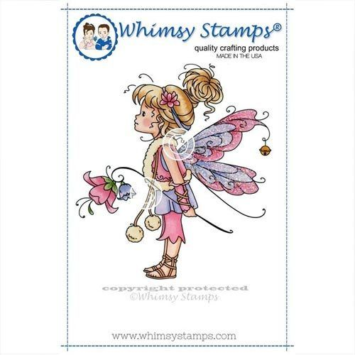 Whimsy Stamps Mountain Lily SZWS130