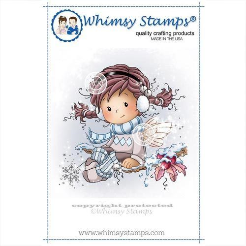 Whimsy Stamps Holly SZWS135