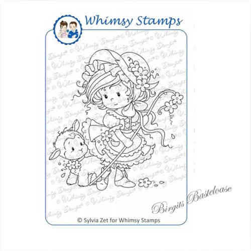 Whimsy Stamps Mary SZWS163