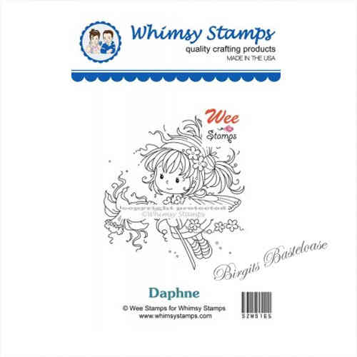 Whimsy Stamps Daphne SZWS165