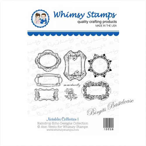 Whimsy Stamps 6 Rahmen 10258