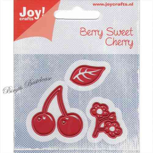 JoyCrafts Stanzschablone Berry Sweet Kirsche 6002/0454
