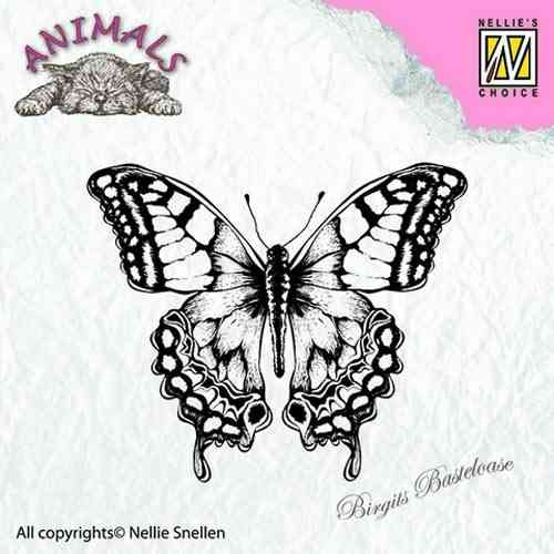 Nellie's Clear Stamp Schmetterling ANI010