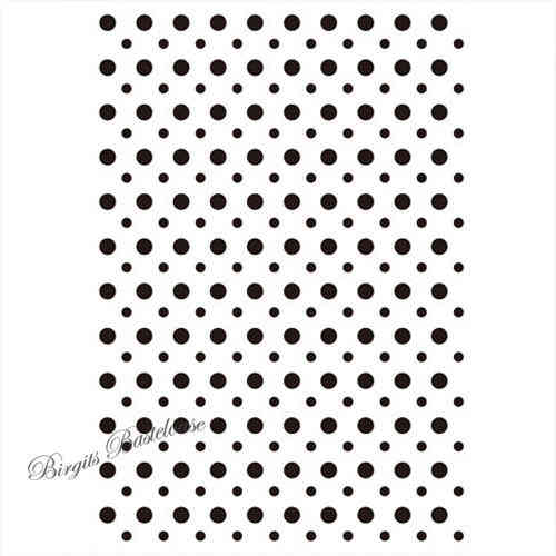 Prägefolder Embossing Folder Dot Background D-559