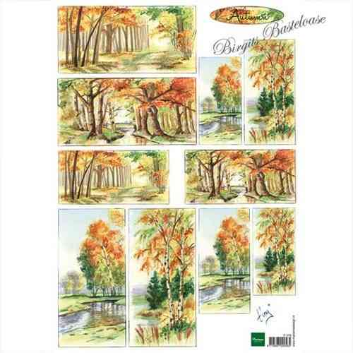 Motivbogen Tinys Herbst Autumn IT579
