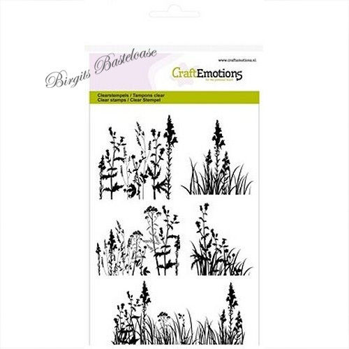 Clear Stamps filigrane Gräser Blumen 1144