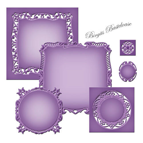 Spellbinders Stanzschablone Majestic Squares S4-422