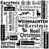 Prägefolder Embossing Folder Text Christmas Nellie 001