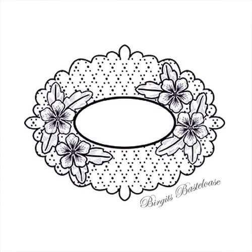 Creative Expressions Cling Stamp Elegant Peony UMS624