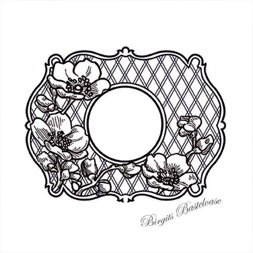 Creative Expressions Cling Stamp Passiflora UMS628